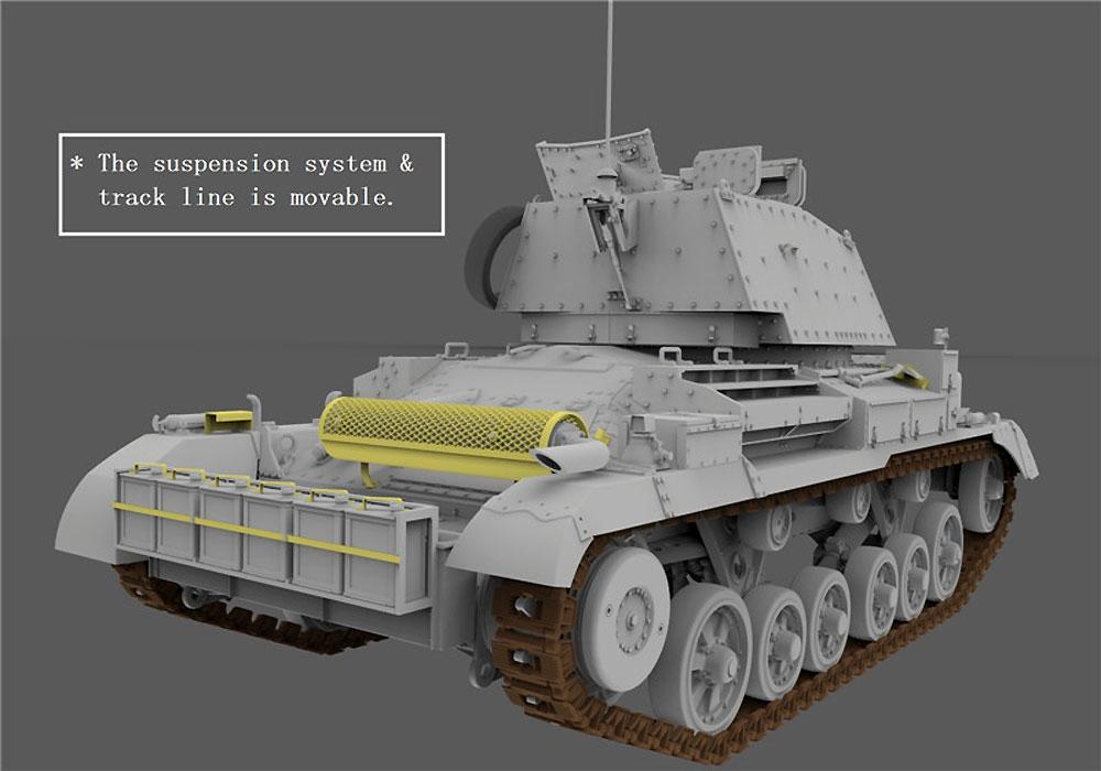 巡航戦車 A10 Mk.1A CSプラモデル(ゲッコーモデル1/35 ミリタリーNo.35GM0001)商品画像_4