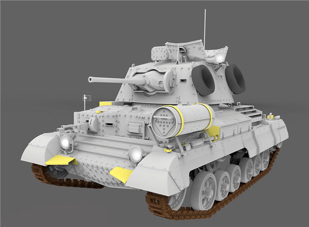 巡航戦車 A10 Mk.1Aプラモデル(ゲッコーモデル1/35 ミリタリーNo.35GM0002)商品画像_2