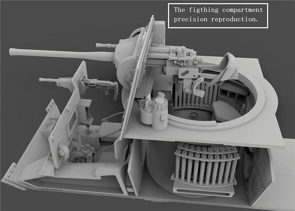 巡航戦車 A10 Mk.1Aプラモデル(ゲッコーモデル1/35 ミリタリーNo.35GM0002)商品画像_3