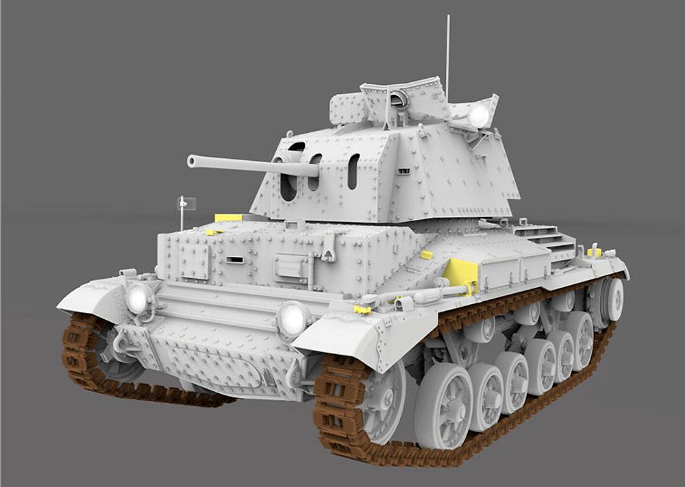 ドイツ軍 鹵獲戦車 Mk.2 742e (巡航戦車 A10 Mk.1)プラモデル(ゲッコーモデル1/35 ミリタリーNo.35GM0005)商品画像_2
