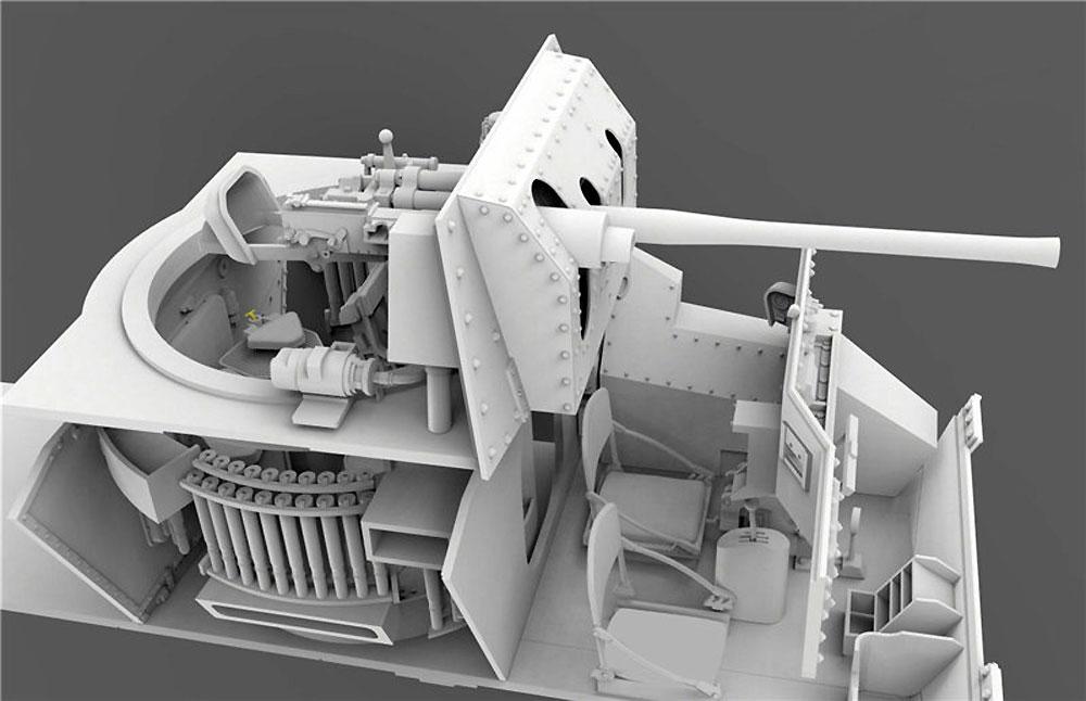 ドイツ軍 鹵獲戦車 Mk.2 742e (巡航戦車 A10 Mk.1)プラモデル(ゲッコーモデル1/35 ミリタリーNo.35GM0005)商品画像_3