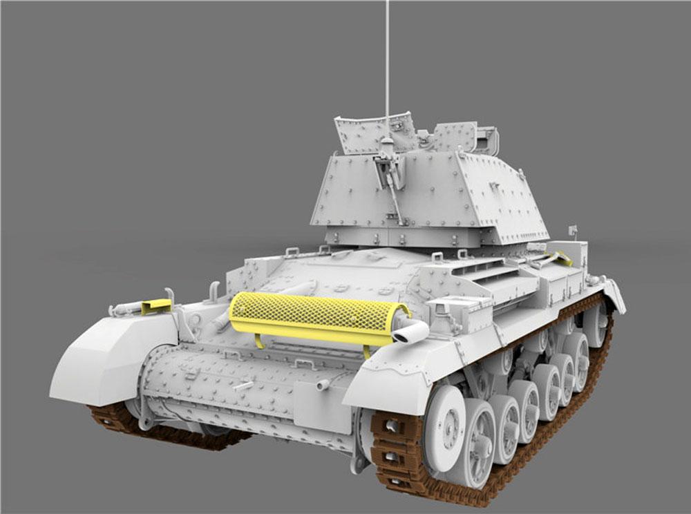 ドイツ軍 鹵獲戦車 Mk.2 742e (巡航戦車 A10 Mk.1)プラモデル(ゲッコーモデル1/35 ミリタリーNo.35GM0005)商品画像_4