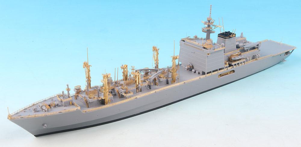 海上自衛隊 ましゅう級補給艦 ディテールアップセット (アオシマ用)エッチング(テトラモデルワークス艦船 アクセサリーパーツNo.SE-70019)商品画像_2