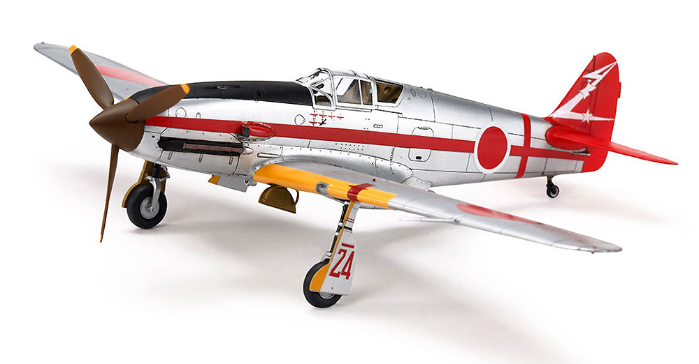 川崎 三式戦闘機 飛燕1型丁プラモデル(タミヤ1/72 ウォーバードコレクションNo.089)商品画像_3