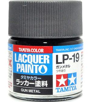 LP-19 ガンメタル塗料(タミヤタミヤ ラッカー塗料No.LP-019)商品画像