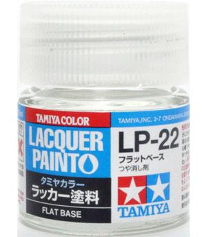 LP-22 フラットベース塗料(タミヤタミヤ ラッカー塗料No.LP-022)商品画像