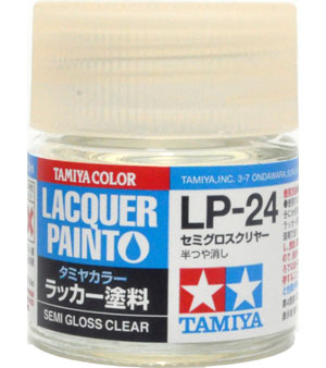 LP-24 セミグロスクリヤー塗料(タミヤタミヤ ラッカー塗料No.LP-024)商品画像