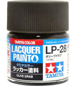 LP-28 オリーブドラブ塗料(タミヤタミヤ ラッカー塗料No.LP-028)商品画像