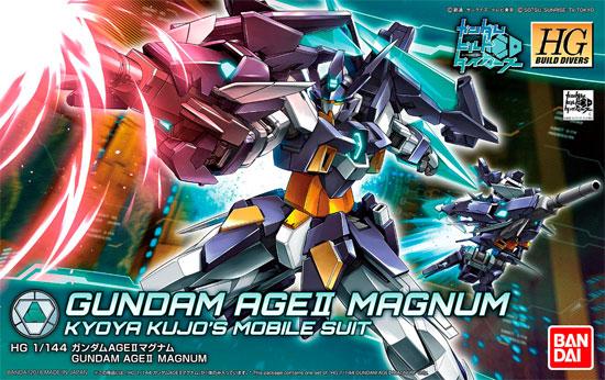 ガンダム AGE2 マグナムプラモデル(バンダイHGBD ガンダムビルドダイバーズNo.001)商品画像