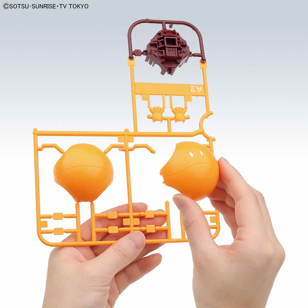 ハロ シューティングオレンジプラモデル(バンダイハロプラNo.003)商品画像_1