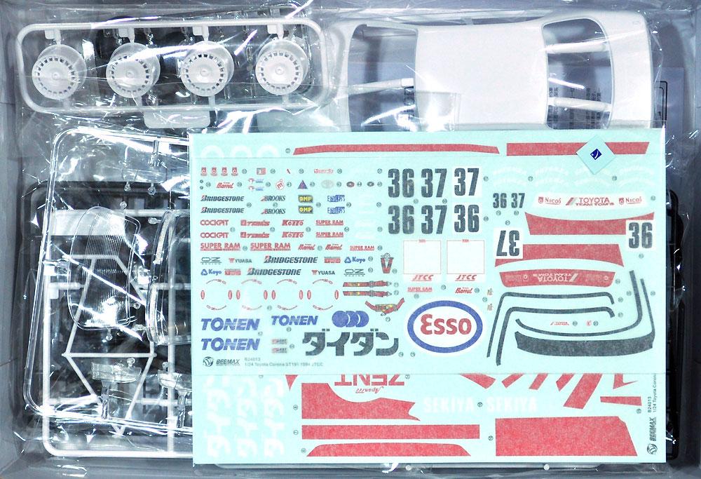 トヨタ コロナ ST191 '94 JTCC仕様プラモデル(BEEMAX1/24 カーモデルNo.017)商品画像_1