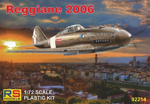 レジアーネ 2006 イタリア空軍プラモデル(RSモデル1/72 エアクラフト プラモデルNo.92214)商品画像