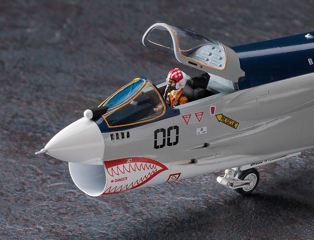 F-8E クルーセイダー 風間 真 (エリア88)プラモデル(ハセガワクリエイター ワークス シリーズNo.64762)商品画像_4