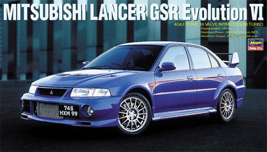 三菱 ランサー GSR エボリューション 6プラモデル(ハセガワ1/24 自動車 限定生産No.20336)商品画像