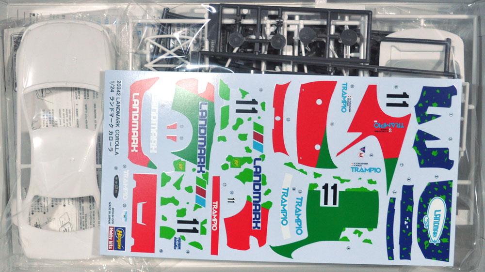 ランドマーク カローラプラモデル(ハセガワ1/24 自動車 限定生産No.20342)商品画像_1