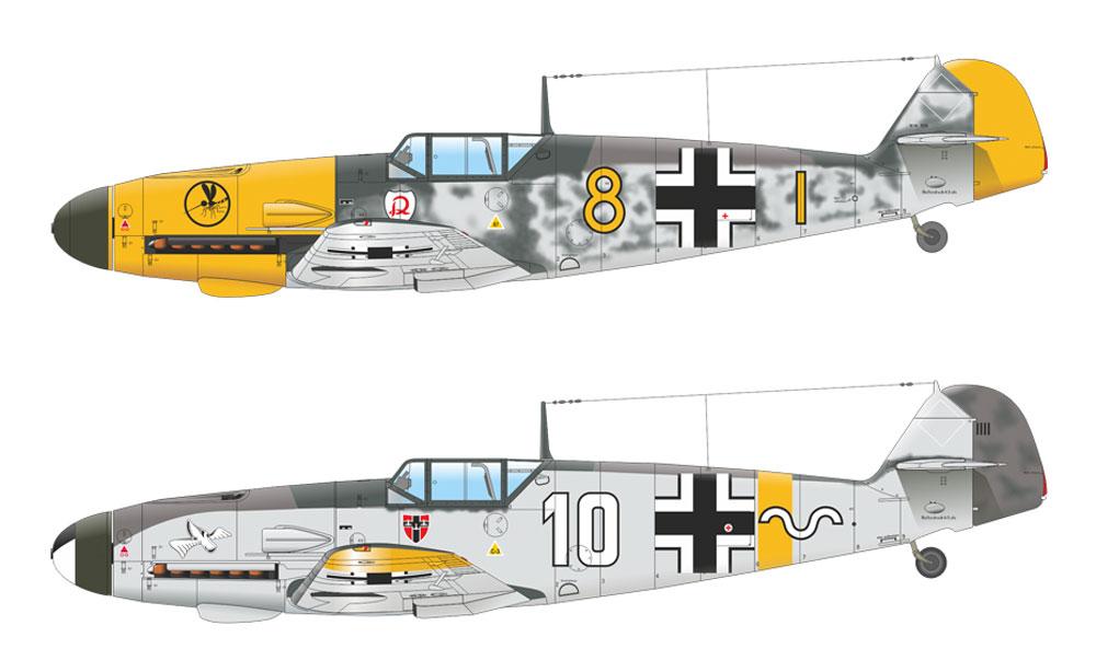 メッサーシュミット Bf109F-2プラモデル(エデュアルド1/48 ウィークエンド エディションNo.84147)商品画像_3