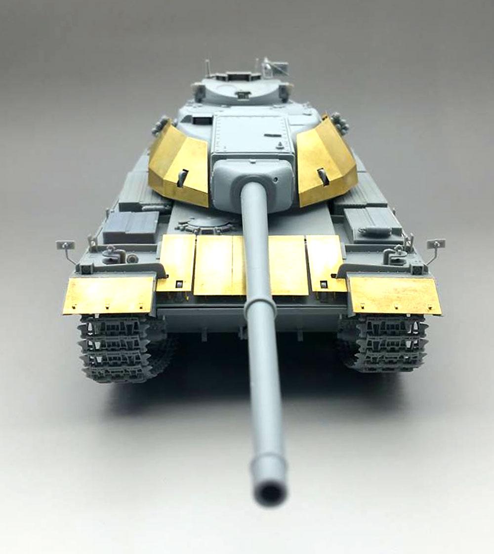 イギリス 重戦車 FV214 コンカラー Mk.1 w/スペースドアーマープラモデル(アミュージングホビー1/35 ミリタリーNo.35A013)商品画像_3
