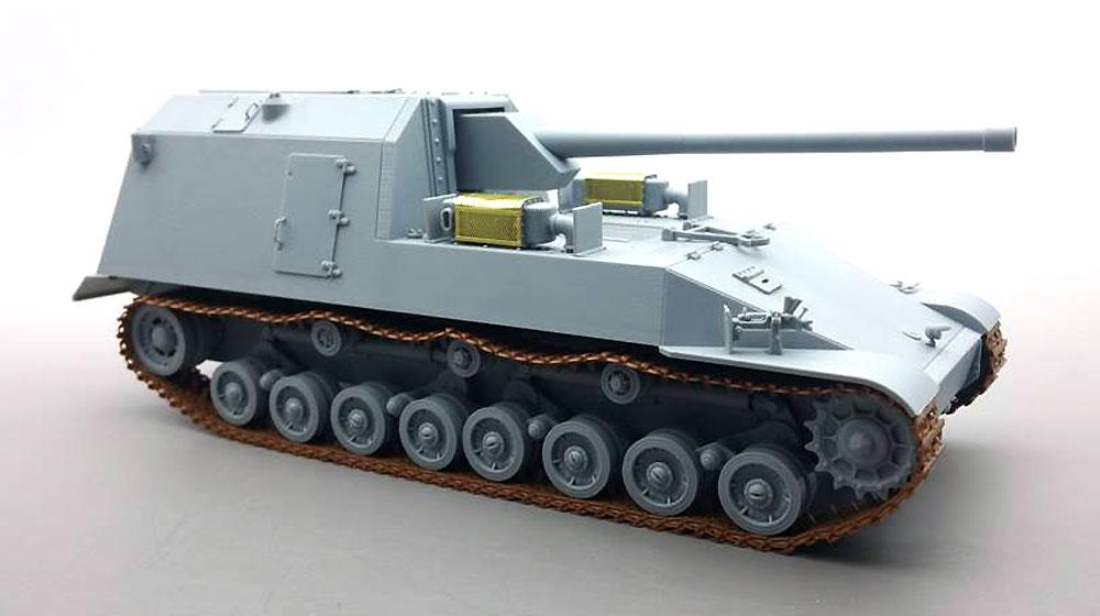 試製 五式砲戦車 ホリ 1プラモデル(アミュージングホビー1/35 ミリタリーNo.35A022)商品画像_3