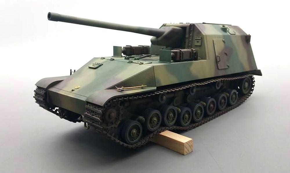 試製 五式砲戦車 ホリ 1プラモデル(アミュージングホビー1/35 ミリタリーNo.35A022)商品画像_4