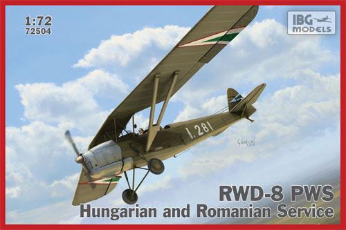 RWD-8 ハンガリー and ルーマニア軍プラモデル(IBG1/72 エアクラフト プラモデルNo.72504)商品画像