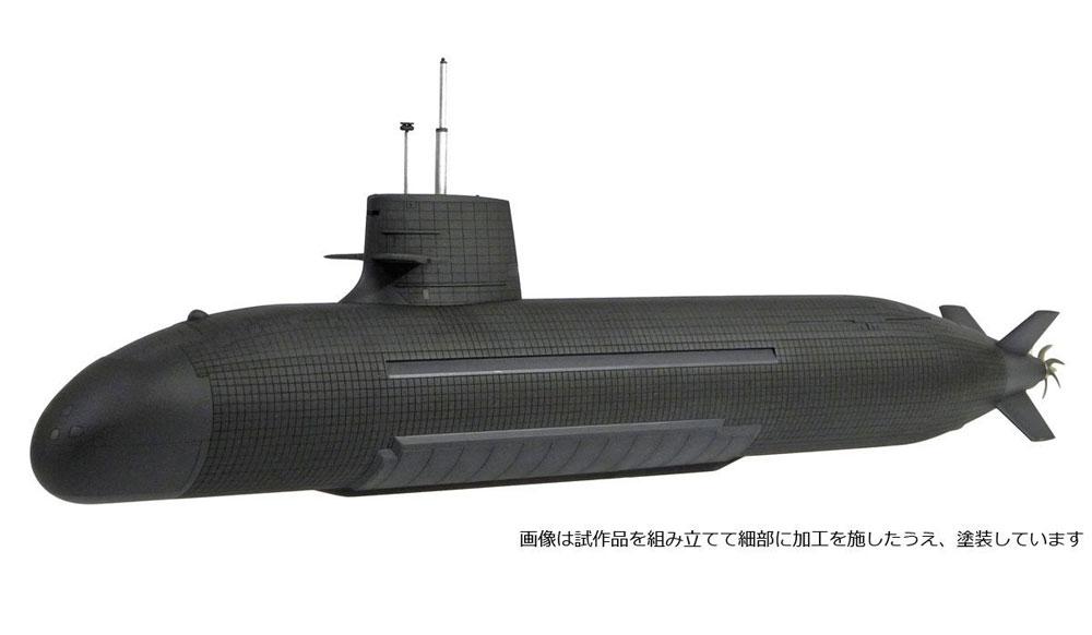 海上自衛隊 そうりゅう型潜水艦プラモデル(モノクローム1/144 潜水艦No.MCT108)商品画像_4