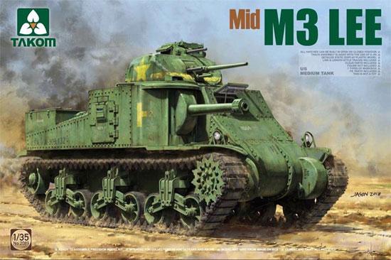 アメリカ 中戦車 M3 リー 中期型プラモデル(タコム1/35 ミリタリーNo.2089)商品画像