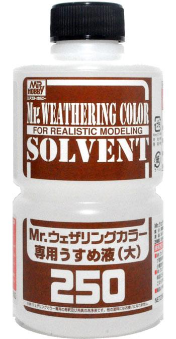 Mr.ウェザリングカラー 専用うすめ液 (大)溶剤(GSIクレオスMr.ウェザリングカラーNo.WCT102)商品画像