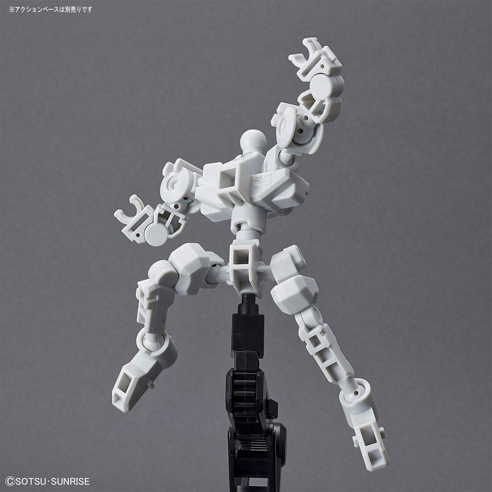 クロスシルエットフレーム ホワイトプラモデル(バンダイSDガンダム クロスシルエットNo.OP-001)商品画像_2