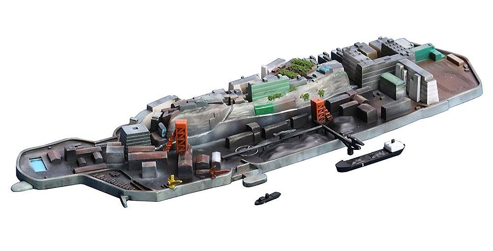 軍艦島 (端島)プラモデル(フジミ集める軍艦シリーズNo.099)商品画像_3