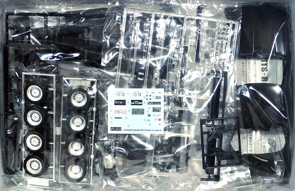 ニッサン スカイライン GTS-R (HR31) 1987 2ドア スポーツクーペプラモデル(フジミ1/24 インチアップシリーズNo.013)商品画像_1
