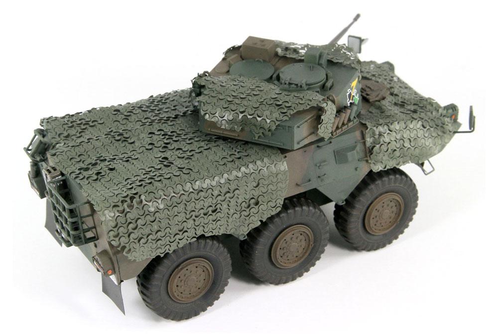 陸上自衛隊 87式偵察警戒車 カモフラージュネット付きプラモデル(ピットロード1/35 グランドアーマーシリーズNo.G048K)商品画像_3