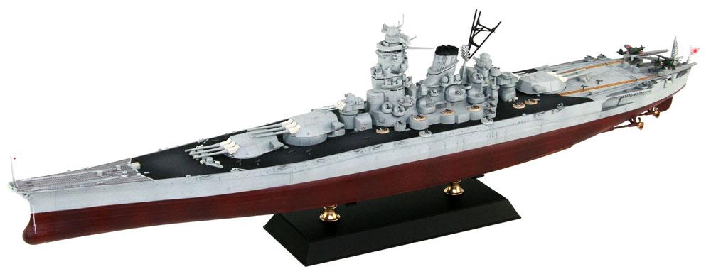 日本海軍 戦艦 武蔵 レイテ沖海戦時プラモデル(ピットロード1/700 スカイウェーブ W シリーズNo.W201)商品画像_3
