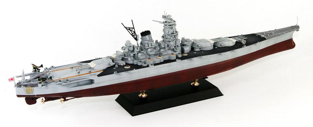 日本海軍 戦艦 武蔵 レイテ沖海戦時プラモデル(ピットロード1/700 スカイウェーブ W シリーズNo.W201)商品画像_4