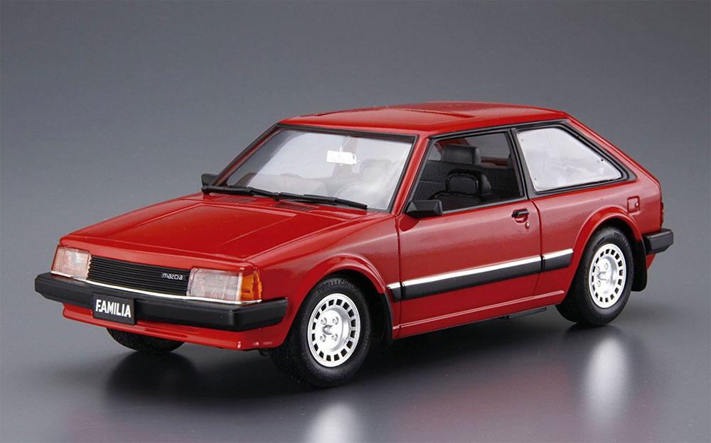 マツダ BD ファミリア XG '80プラモデル(アオシマ1/24 ザ・モデルカーNo.旧080)商品画像_2