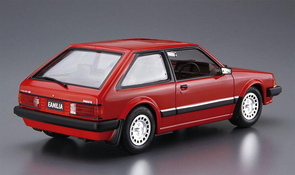 マツダ BD ファミリア XG '80プラモデル(アオシマ1/24 ザ・モデルカーNo.旧080)商品画像_3