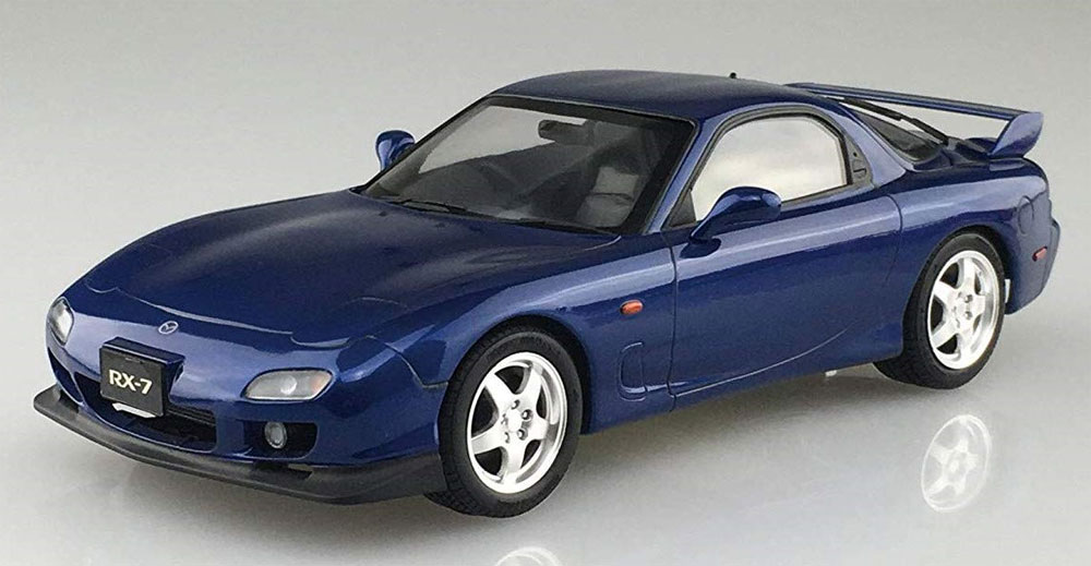 マツダ FD3S RX-7 '99 (イノセントブルーマイカ)プラモデル(アオシマ1/24 プリペイントモデル シリーズNo.4905083054987)商品画像_2