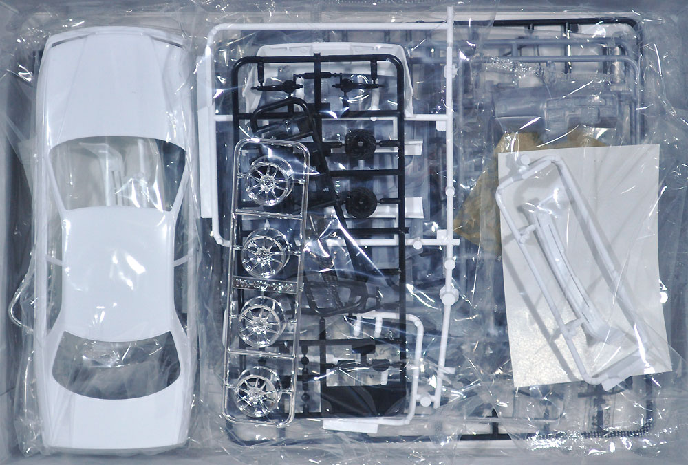 VERTEX JZX100 マーク 2 ツアラーV '98 (トヨタ)プラモデル(アオシマ1/24 ザ・チューンドカーNo.054)商品画像_1