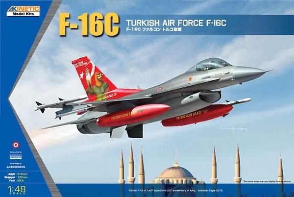 F-16C ファイティングファルコン トルコ空軍プラモデル(キネティック1/48 エアクラフト プラモデルNo.K48069)商品画像