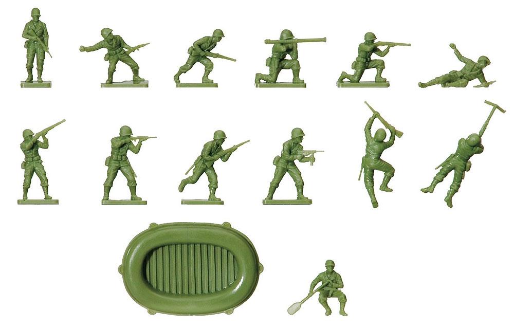 WW2 アメリカ海兵隊 兵士プラモデル(エアフィックス1/72 AFVNo.A00716)商品画像_1