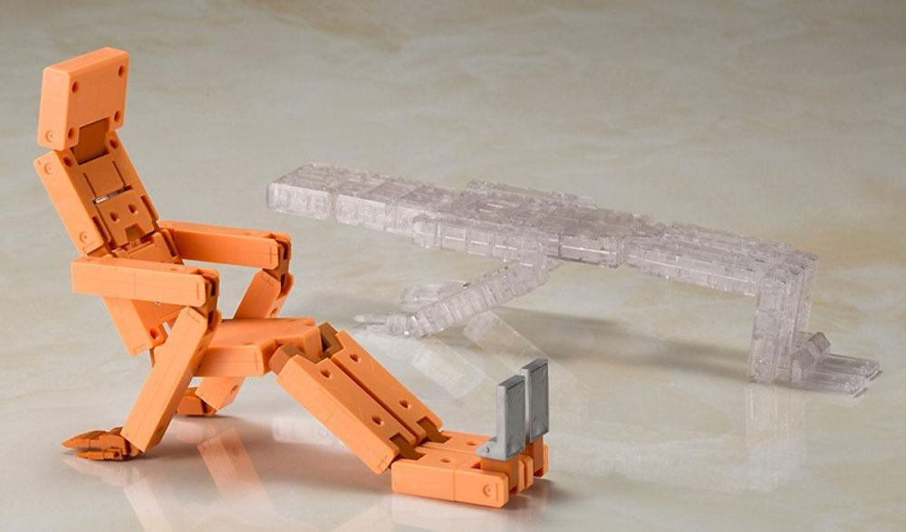 充電くん HRESVELGR & CLEAR COLOR Ver.プラモデル(コトブキヤフレームアームズ・ガールNo.FG055)商品画像_3