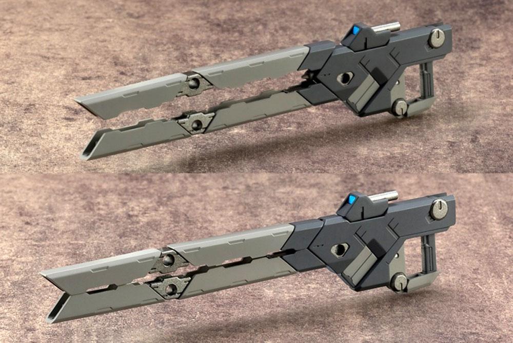 バーストレールガンプラモデル(コトブキヤM.S.G モデリングサポートグッズ ウェポンユニットNo.RW001)商品画像_4