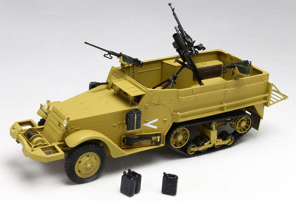 イスラエル国防軍 IDF M3ハーフトラック 迫撃砲搭載型 w/イスラエル国防軍 水ジェリカンプラモデル(ドラゴン1/35 MIDDLE EAST WAR SERIESNo.DR30TH-006)商品画像_2