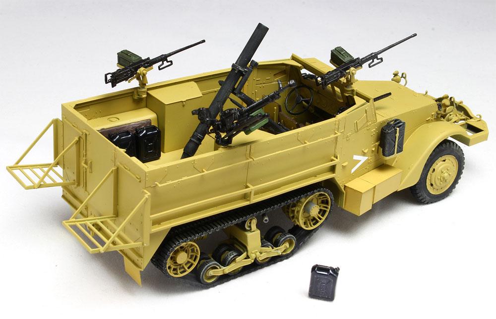 イスラエル国防軍 IDF M3ハーフトラック 迫撃砲搭載型 w/イスラエル国防軍 水ジェリカンプラモデル(ドラゴン1/35 MIDDLE EAST WAR SERIESNo.DR30TH-006)商品画像_3