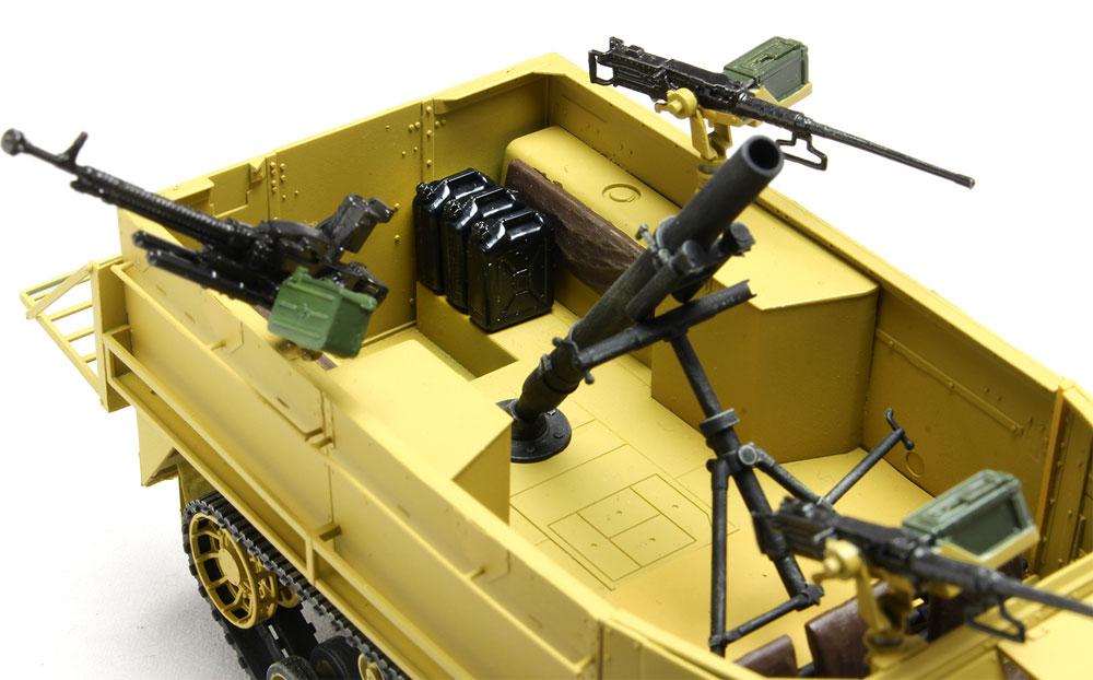 イスラエル国防軍 IDF M3ハーフトラック 迫撃砲搭載型 w/イスラエル国防軍 水ジェリカンプラモデル(ドラゴン1/35 MIDDLE EAST WAR SERIESNo.DR30TH-006)商品画像_4