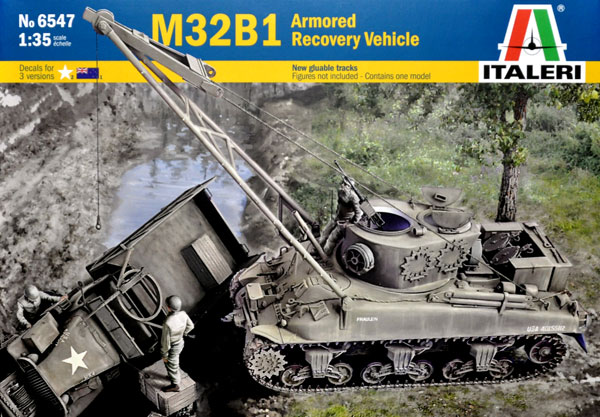 M32B1 装甲回収車プラモデル(イタレリ1/35 ミリタリーシリーズNo.6547)商品画像