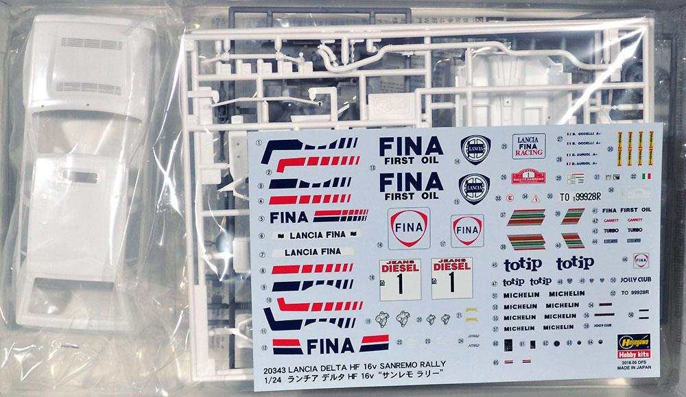 ランチア デルタ HF 16v サンレモラリープラモデル(ハセガワ1/24 自動車 限定生産No.20343)商品画像_1
