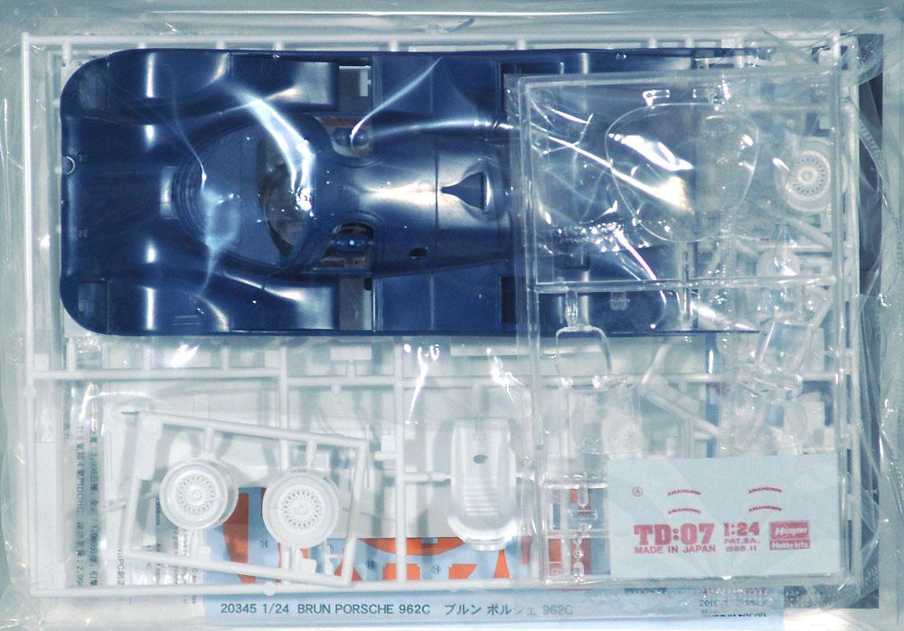 ブルン ポルシェ 962Cプラモデル(ハセガワ1/24 自動車 限定生産No.20345)商品画像_1