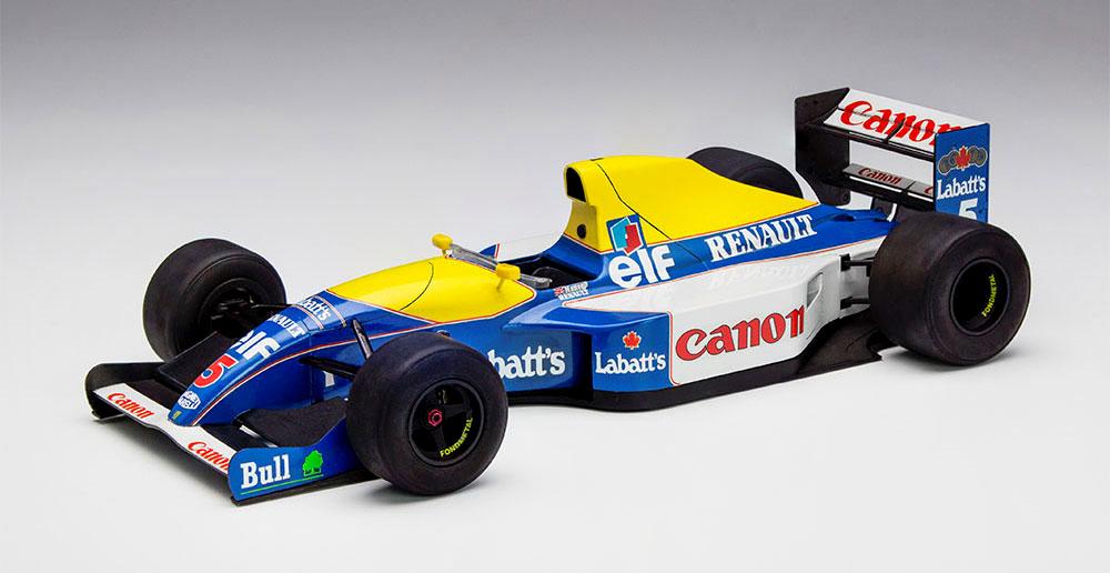 ウィリアムズ FW14プラモデル(ハセガワ1/24 自動車 限定生産No.20346)商品画像_3