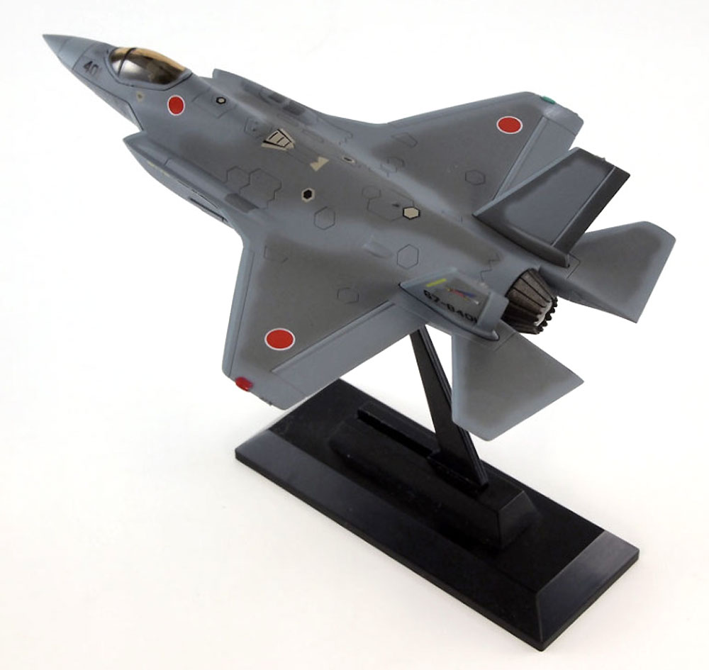 F-35J ライトニング 2 航空自衛隊 (F-35A用 ロービジデカール付き)完成品(ピットロードコンプリート エアクラフト シリーズ (塗装済み完成品)No.SNM-014SP)商品画像_3
