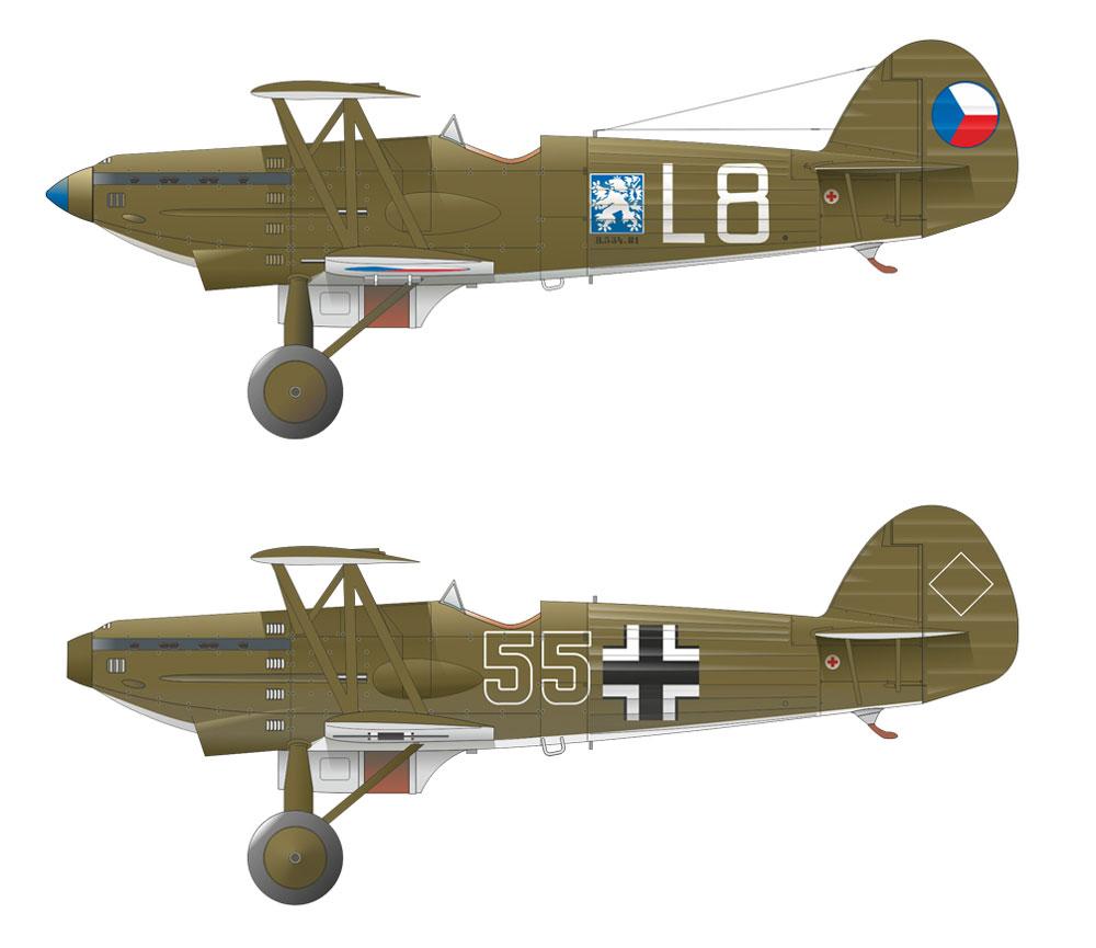 アビア B.534 1シリーズプラモデル(エデュアルド1/72 ウィークエンド エディションNo.7446)商品画像_3